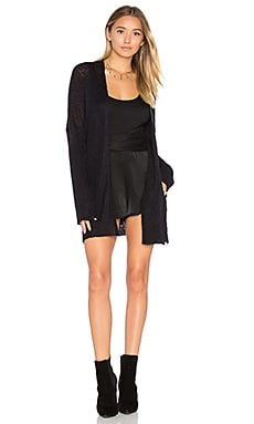 Werner Cozy Cardigan in Black