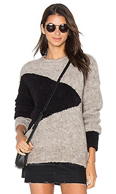 susanne karlsson Anders Sweater in Abstract Stone Combo