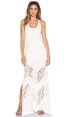sky Randall Maxi Dress in Bone