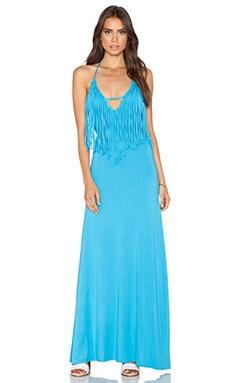 sky Shelly Dress in Azure
