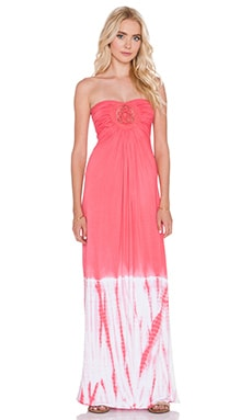 sky Nkrumsh Maxi Dress in Strawberry