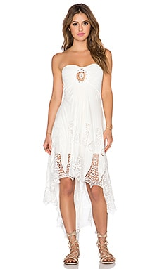sky McKinley Dress in White
