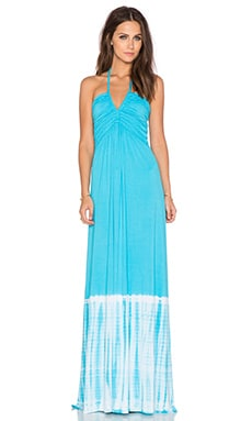 sky Nizsm Maxi Dress in Turquoise