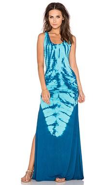 sky Nozomi Maxi Dress in Seafoam