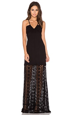 sky Raden Maxi Dress in Black