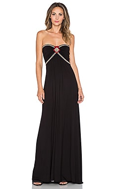 sky Abdou Maxi Dress in Black