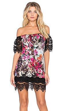 sky Jahse Mini Dress in Black