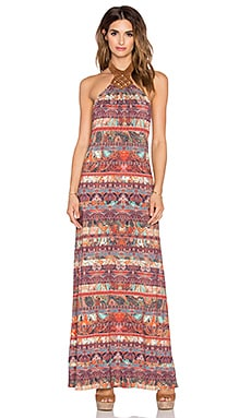 sky Pamela Maxi Dress in Multi