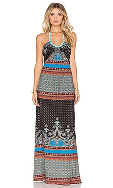 sky Thoria Dress in Blue