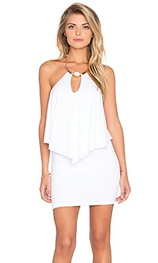 sky Kajsa Dress in White