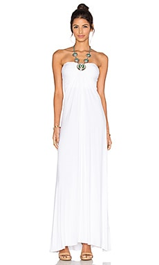 sky Synnove Dress in White