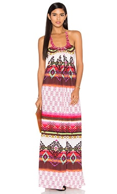 sky Quenbya Dress in Fuschia