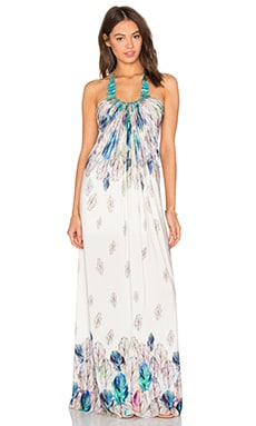 sky Wacfeld Maxi Dress in White