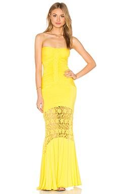 sky Ualtar Maxi Dress in Yellow