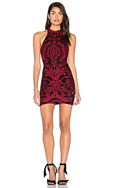 Jace Dress in Red