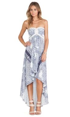 sky Jda Asymmetrical Dress in Blue
