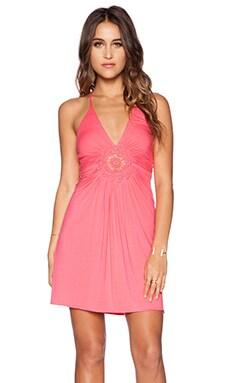 sky Conventina Dress in Strawberry