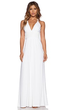 sky Quartz Dress in White