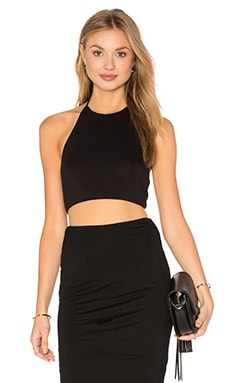 sky Carmino Top in Black