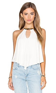 sky Apalonia Top in Bone