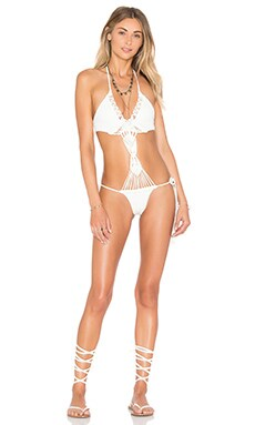 sky Fiyonna One Piece in Ivory