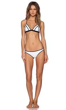 SKYE & staghorn Aloe Bikini Set in White