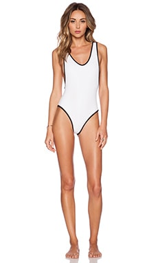 SKYE & staghorn Izar Swimsuit in White