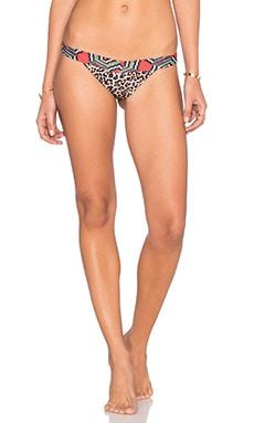 Maasai V Bikini Bottom in Leopard Multi