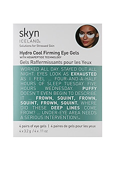 Hydro Cool Firming Eye Gels 4 Pack Skyn Iceland $15