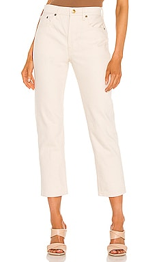 Tate High Rise Straight Crop Still Here $235 Sustainable