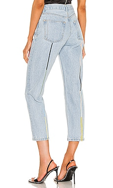 Tate High Rise Straight Crop Still Here $280 Sustainable