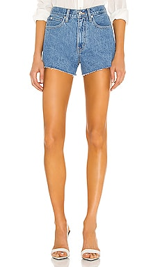Farrah Mid Rise Cut Off Short SLVRLAKE $192