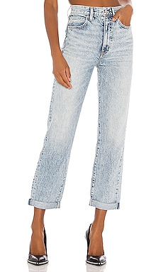 Dakota High Rise Relaxed Boyfriend SLVRLAKE $299