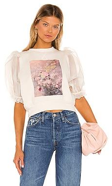 X REVOLVE Rosewater Minnie Sweater Selkie $198 NEW