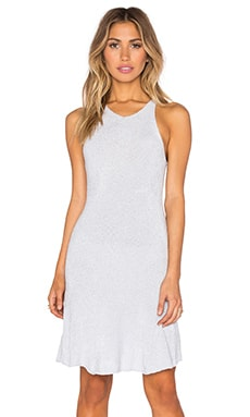 Retreat Knit Dress en Bleu