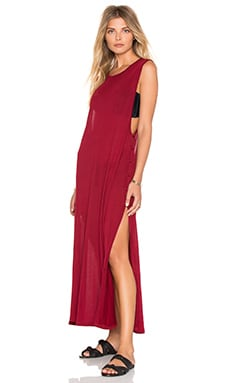 Fly Tank Dress in Plum