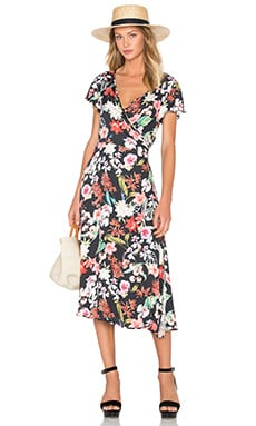 Eden Floral Dress in Multi