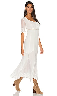 Marlowe Maxi Dress in Off White