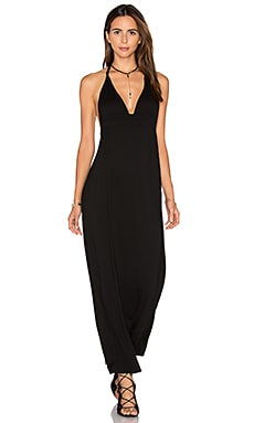 By the Bay Knotted Dress in Black