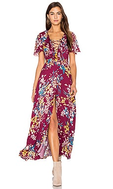 Supremes Floral Dress in Multi
