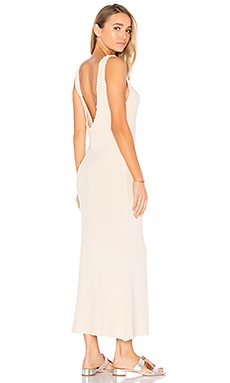 Tara Maxi Dress in Bone