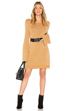 Swinging Stars Sweater Dress