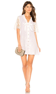 Купить Мини платье free skies - Somedays Lovin белого цвета