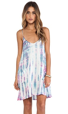 Kwando Tie Dye Swing Dress