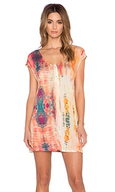Somedays Lovin The Wailers Tie Dye Dress in Multi