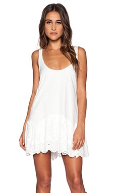 Somedays Lovin Pit Stop Dress in White