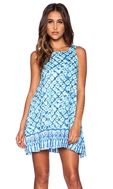 Somedays Lovin Little Fish Swing Dress in Multi