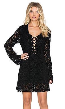 Lucid Lace Dress in Black