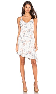 Sundown Floral Slip Dress en Imprimé