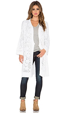 Somedays Lovin Spirit Waterfall Cardigan in White